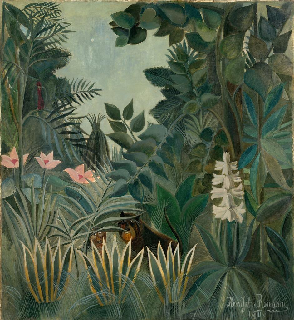 The Equatorial Jungle, Henri Rousseau