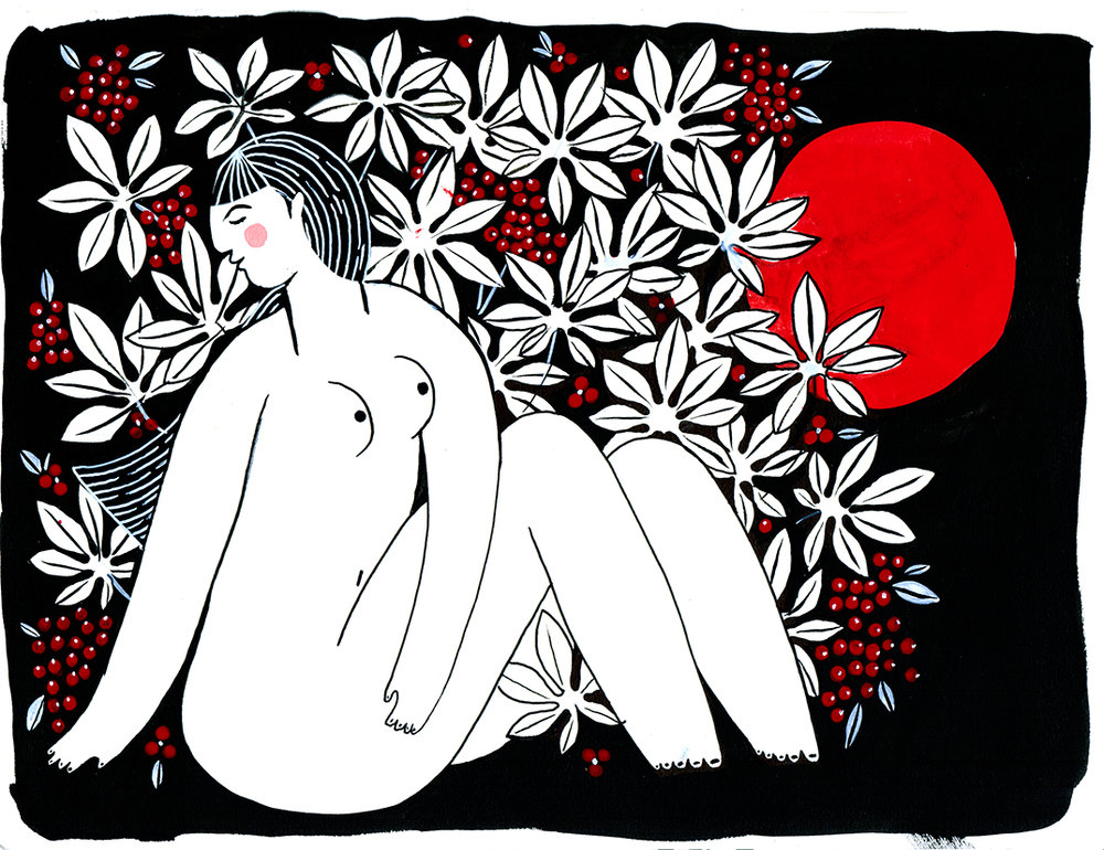 Nude in the Brush, 2017