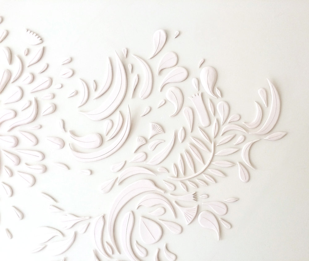 Porcelain Mural - CERAMIC / MAY 2018
