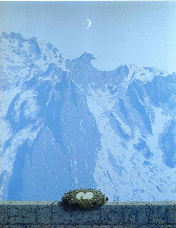 Le Domaine d'Arnheim, Rene Magritte
