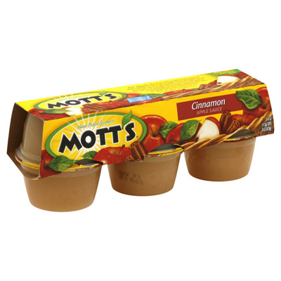 Applesauce, couldn't possibly be bad for you right? No! Mott's uses HFCS