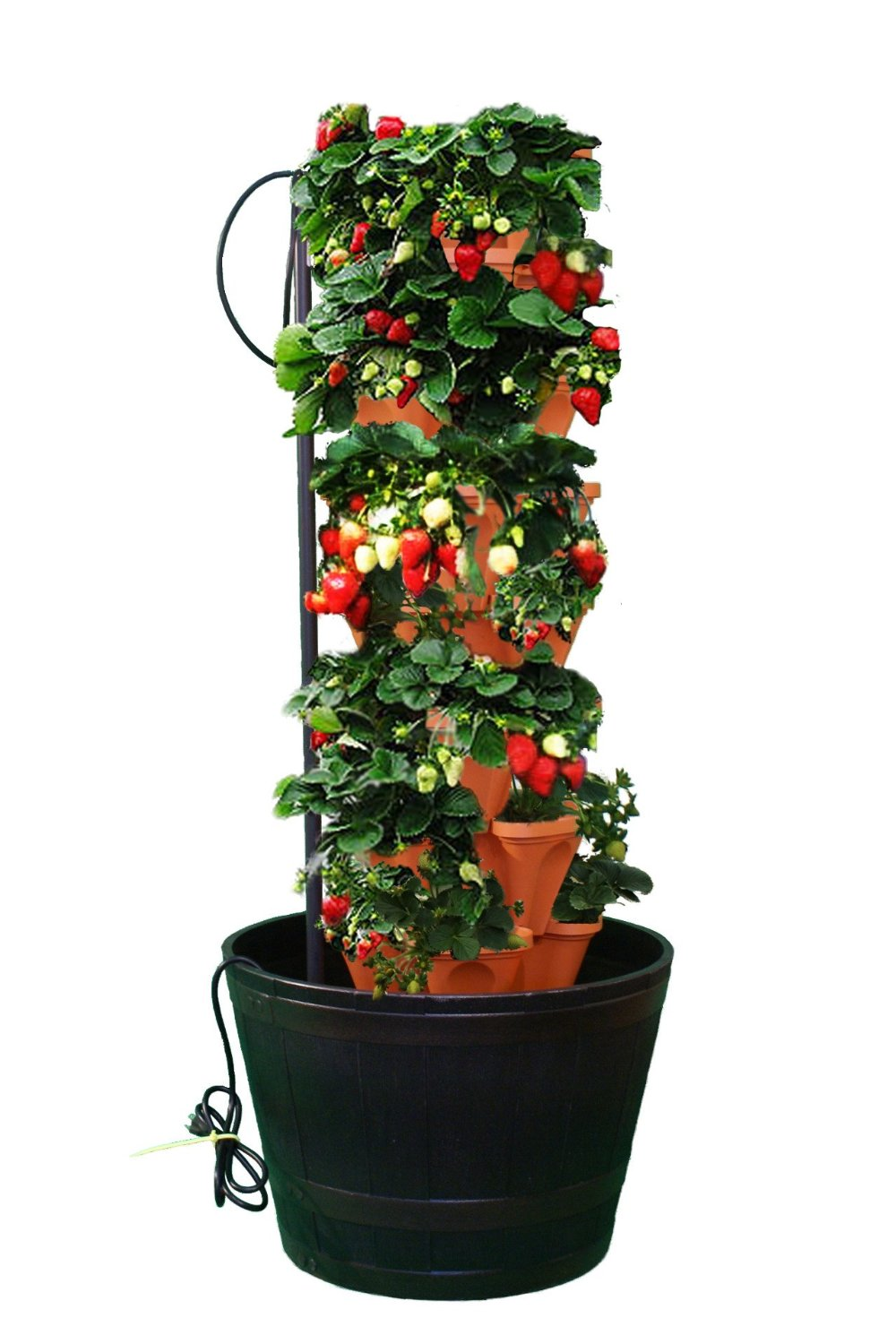 This links to a cheaper version of the Tower Garden than recommended on this show.