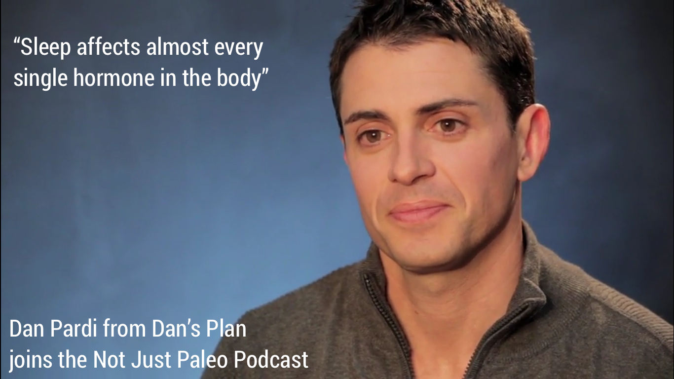 Dan Pardi joins Not Just Paleo
