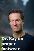 Dr. Ray on Not Just Paleo discussing foot injuries and barefoot walking