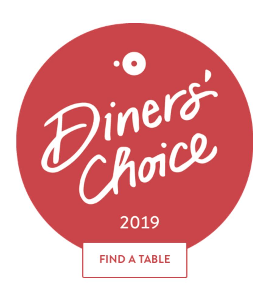 Diner's Choice Award