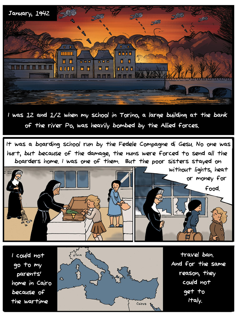 Sample page from  L'Aquiletta .