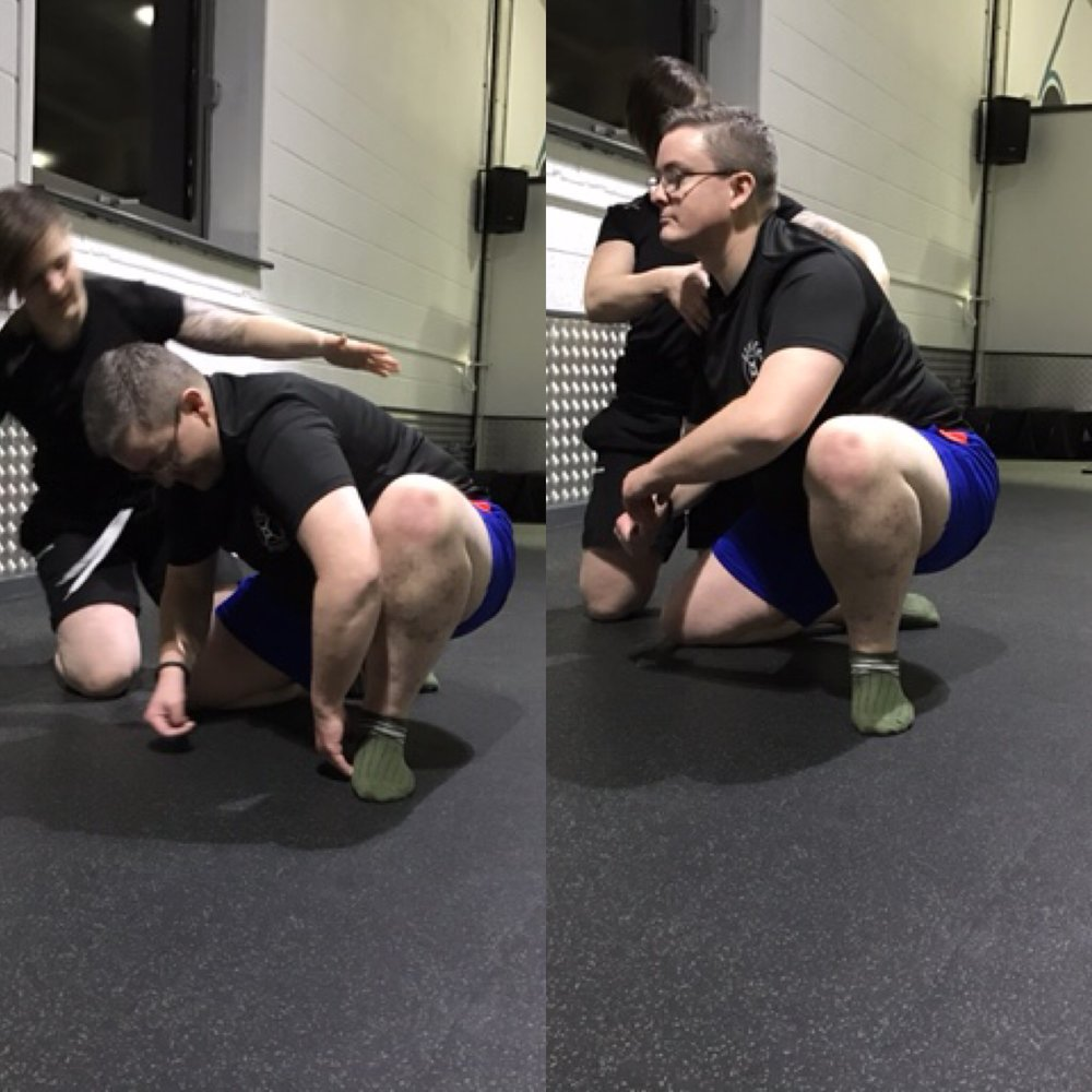 COLM BUCKLEY - Colm' goals are to eliminate chronic pain due to his poor postural alignment, learn how to lift heavy weights and obtain the rugby player physique of his dreams