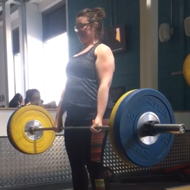 JEN COTTINGHAM - Jen had previously had a PT so was no stranger to the gym, however she had never been taught how to lift. Her current goal...hit a 100kg deadlift! This one is strong!