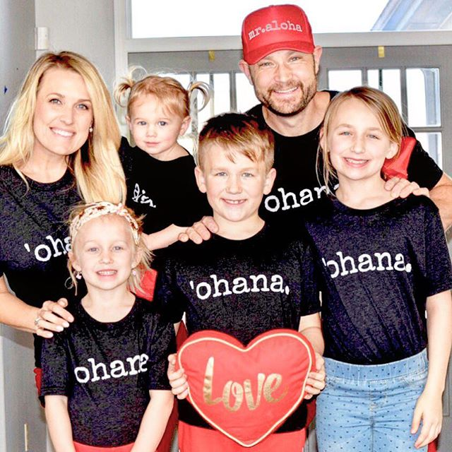 Ohana means family....it's the belief that families are bound together, expected to cherish one another, to be loyal and to support one another. . One thing that was put-on my heart this year was putting extra emphasis on how my kids interact. I want them to understand the deep connection of sibling love and to cherish it. @ivyandcompany you have no idea how special these outfits are for us!! They mean so much more than a cute matching set of t-shirts but a deep theme that I want running through my home today and always. . I love that our vacation in Kauai reminded us to slow down, to cherish, to love a little deeper and to connect more with the members of our tribe. We sure love you friends and are sending you extra love on this Stevens Family love day. ❤️