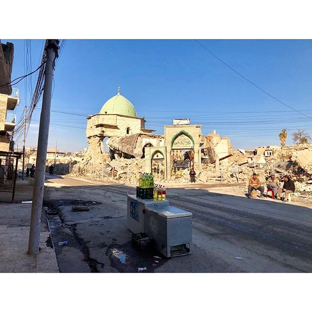 """In November, I traveled to Iraq to try and report on the rebuilding happening in and around Mosul, a little over a year after the city was liberated from ISIS. While there, I interviewed Iraqi Major General Najim al-Jubouri, the man handpicked by the United States to rid the city of the extremists. But in order to liberate the city, Jubouri nearly flattened it. Mosul is still filled with bomb craters, bullet holes, and active mines, and what is left of buildings that were once homes and shops are missing walls or roofs or leaning dangerously. ** The Major General now has a new task: Rebuilding the city. Citizens are moving back in and restarting their lives after ISIS's three year reign, but Jubouri told me that the rebuilding itself is """"very slow."""" ** """"Many people suffer because they not have jobs, their houses are destroyed, the foundation of the city not good, and the rebuilding very slow,"""" the Major General said to me while sitting at his headquarters. """"And this very dangerous in the mid-term and the long-term. Maybe any bad organization can return back."""" ** My interview with Jubouri was kindly published today by @realclearlife (link in bio or whatever the kids say). I have a few more stories I am hoping to get out from my time in Iraq, and a huge thank you to everyone who supported my life to decision to jump fully into this type of reporting."""