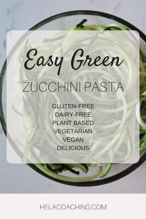 Easy Green Zucchini Pasta Gluten-free Dairy-free Plant based Vegetarian Vegan.png