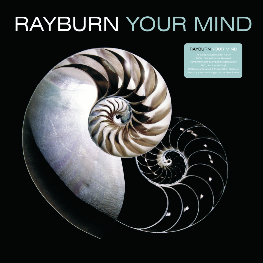 """RAYBURN  """" YOUR MIND"""" : Double Gate-Fold Album, Box Set and CD Design     →"""
