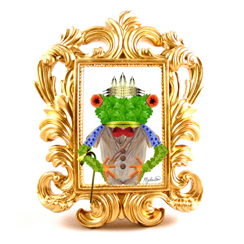 glen_johnston_botnaimals_frog_framed
