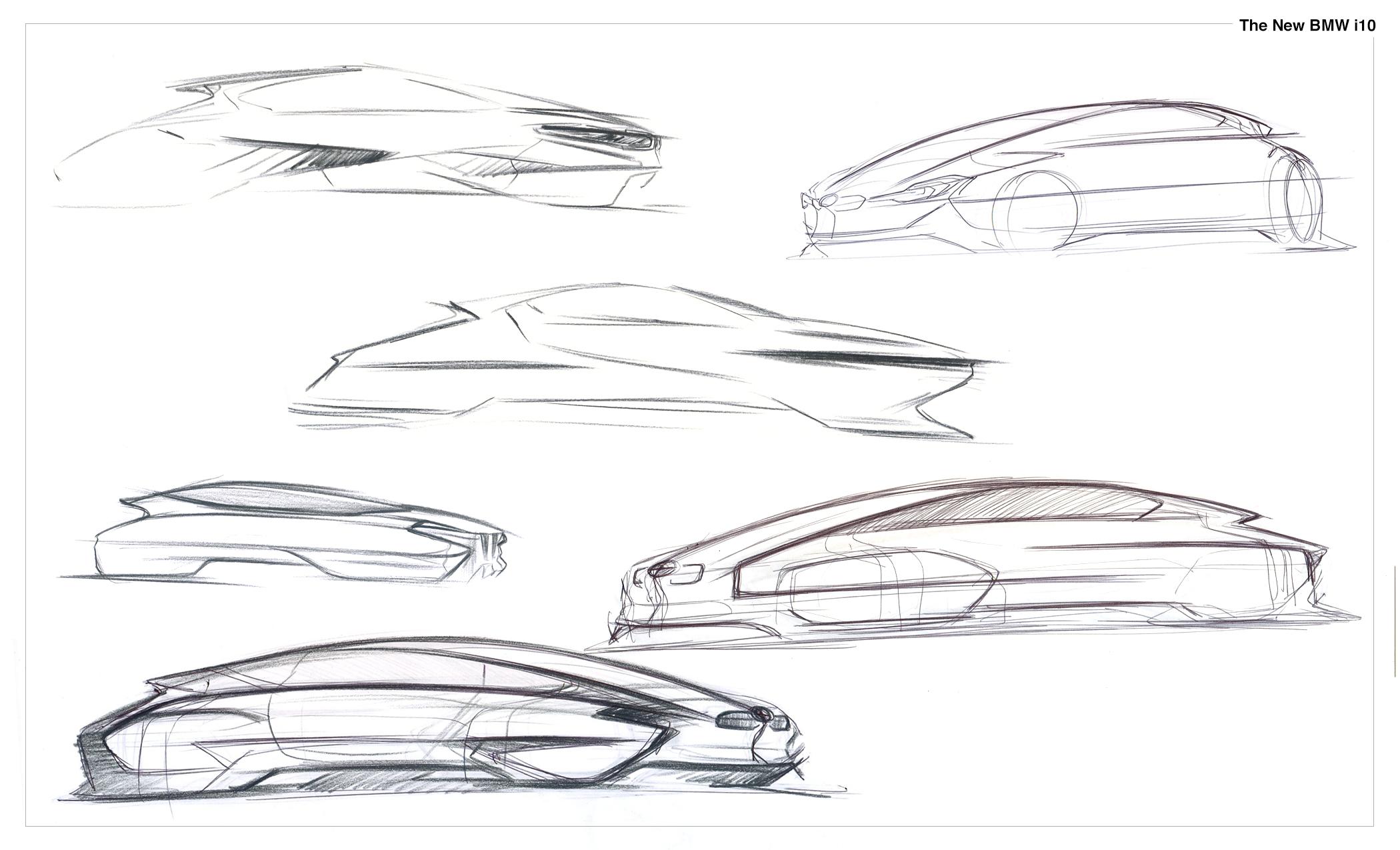 Bmw I10 Concept 2020 Hyunho Jang
