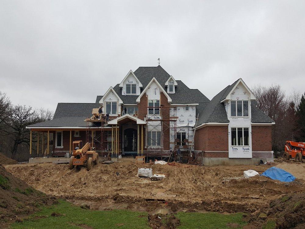 * 10,000 sq ft House, Barrington IL