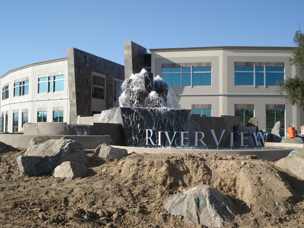 Riverview Water Feature, Santee CA