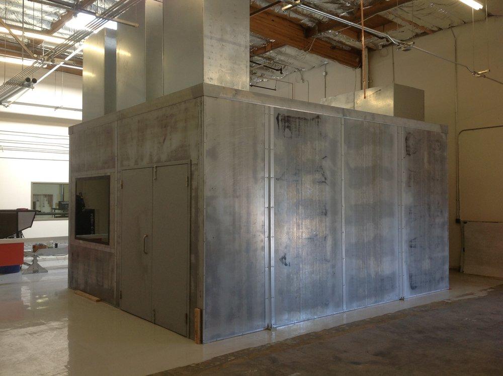 Tula Shrapnel Resistant Engine Dyno Test Cell, SanJose CA