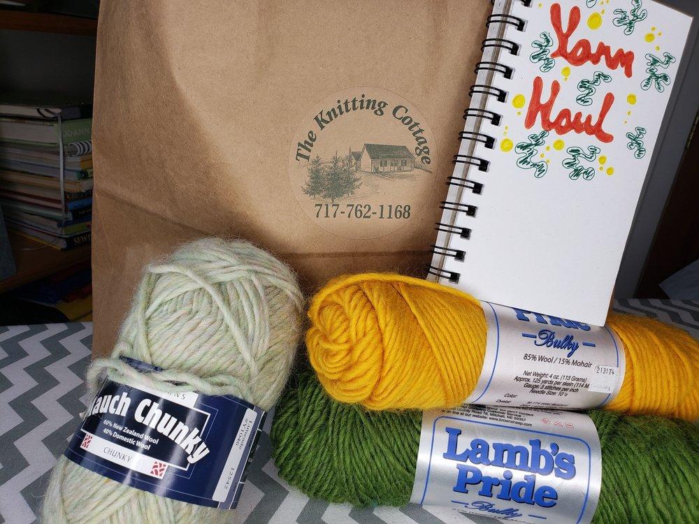 Yarn haul!