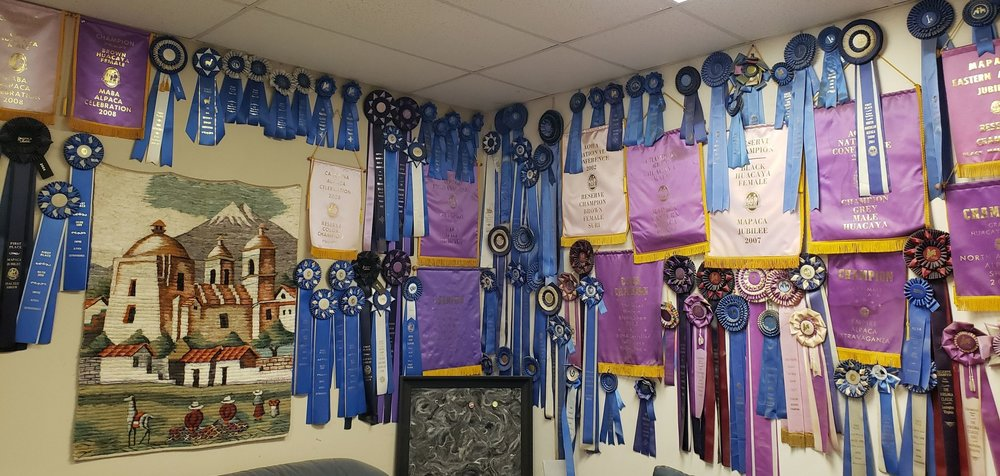 Ribbons of greatness.