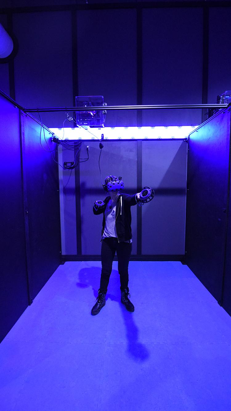 A Virtual Reality Station (Escape Pod)