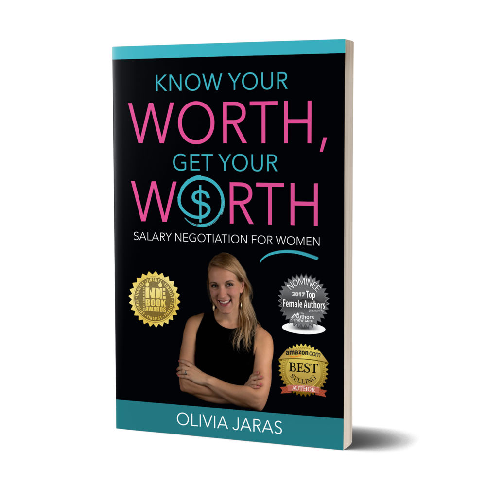 Know Your Worth, Get Your Worth: Salary Negotiation for Women - Order the award winning, international best-seller.Companies don't set your salary by simply googling what you should earn. Neither should you! Let this bestselling author teach you the insider way of figuring out your true worth in today's market, and teach you the tools to negotiate for it like an expert.PRICE: $9.95