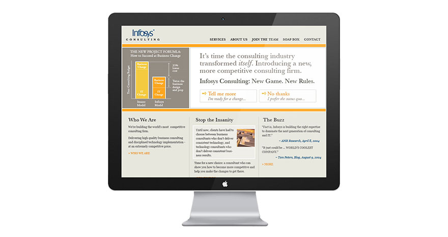 Infosys Consulting Website