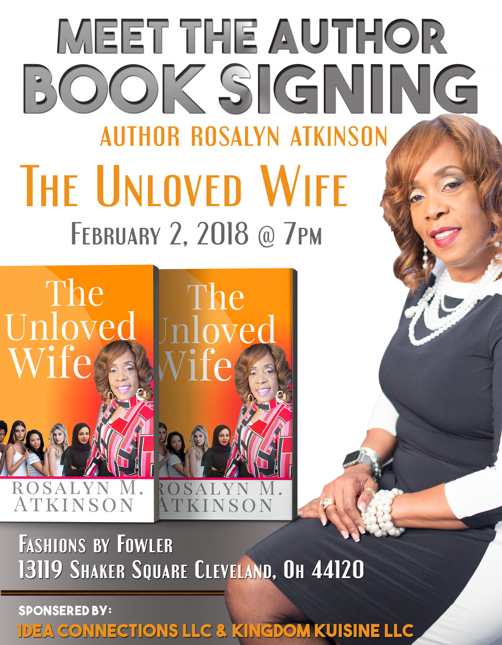 Book Signing 2018 -