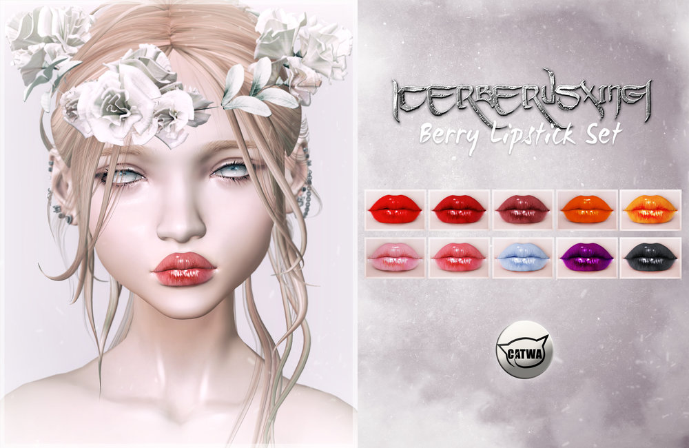 [CX] Berry Lipstick Set - January 11, 2017