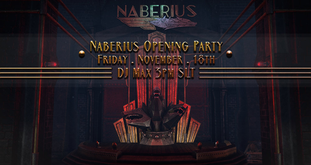 //Naberius// Opening Party - November 16, 2016