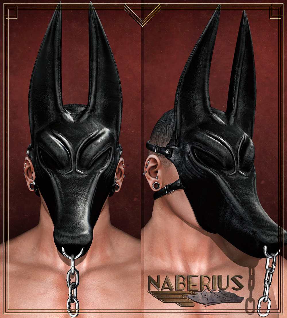//Naberius// Chainbound Anubis Mask UPDATE - September 02, 2017