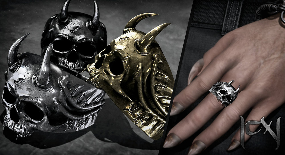 |CX| Horny Skull Ring (Bento) - February 4, 2018