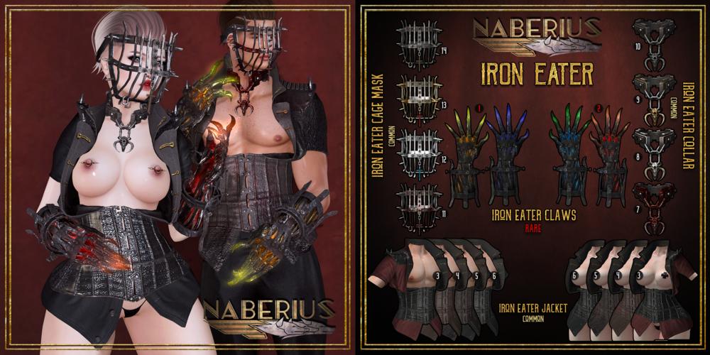 //Naberius// - Iron Eater - April 16, 2018