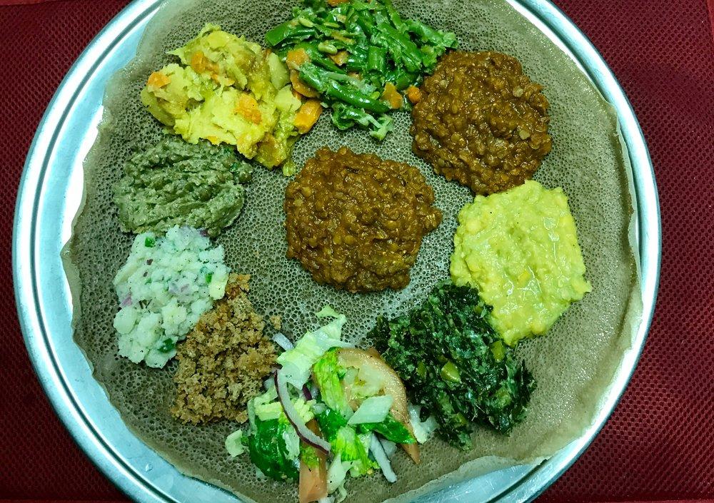 Homestyle Ethiopian Food