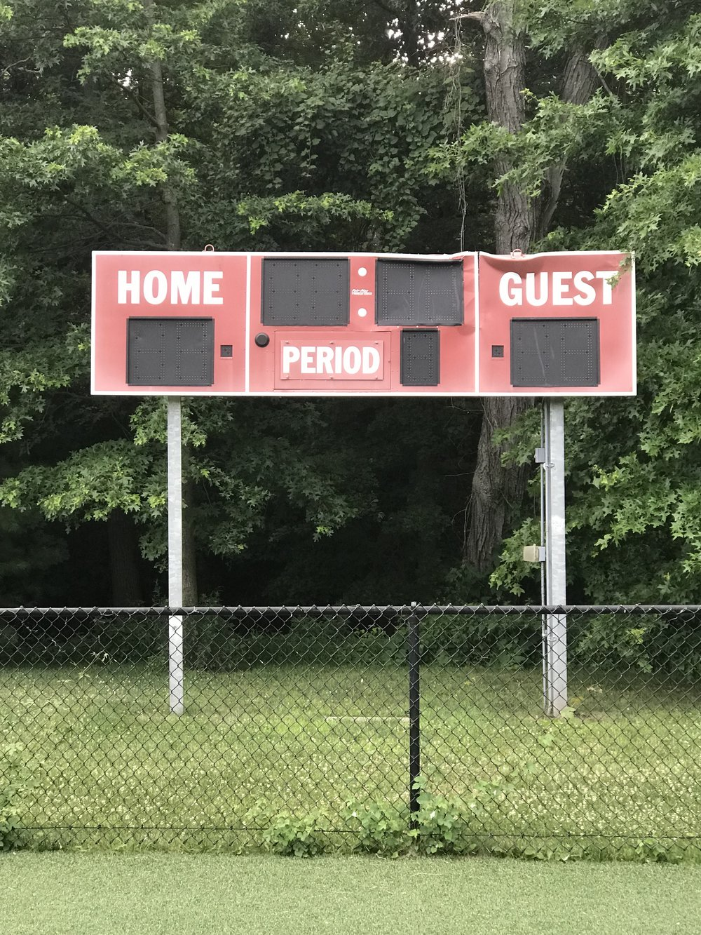 GHS Baseball & Practice Field Scoreboards - We are also working on raising money to replace older scoreboards at the Greenwich High School campus. Some are outdated or damaged beyond repair.Click HERE to donate to scoreboard repairs!