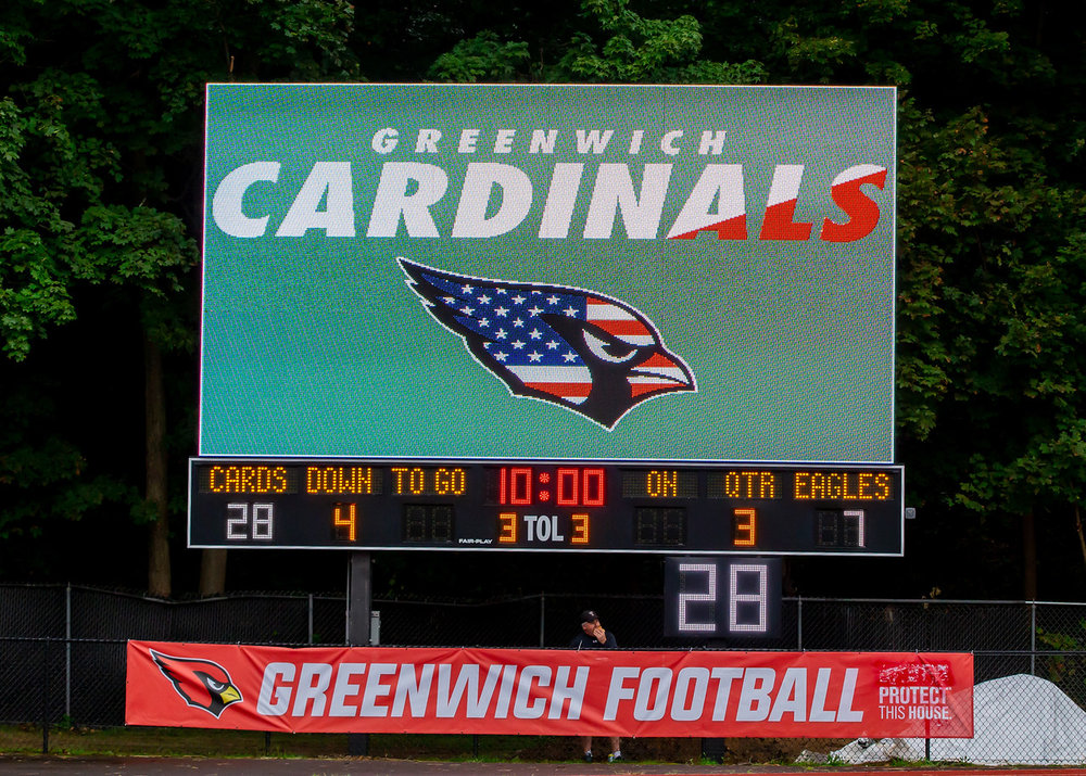 Cardinal Stadium Scoreboard - The Cardinal Stadium Scoreboard was dedicated on Saturday, September 8, 2018. We still need your help to supportthis project. Please support all student athletes who compete in Cardinal Stadium every year. This includes athletes of all ages!Click HERE to donate to the scoreboard project!