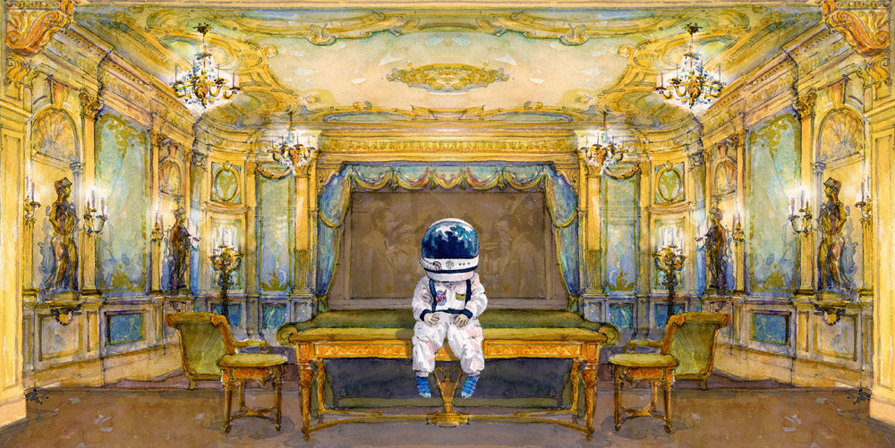 HOME MOVIE . Home Theater, 2008. Remixed astronaut 2018