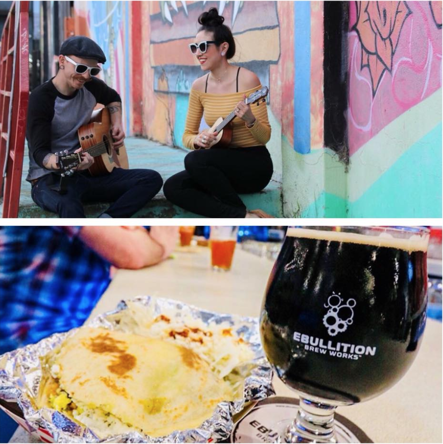 What's better than beer, food, and good music? Grill heats up at 4 and music starts at 6.