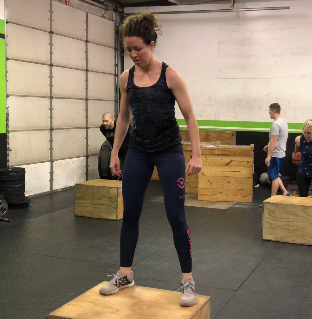 Sarah got 20 Double Unders in a row this week.  New PR for her.  Maybe today she will set a new PR of 30 unbroken!!!  Who else wants to work on their double unders?      Keep an eye on the website and Facebook for any possible class cancelations.