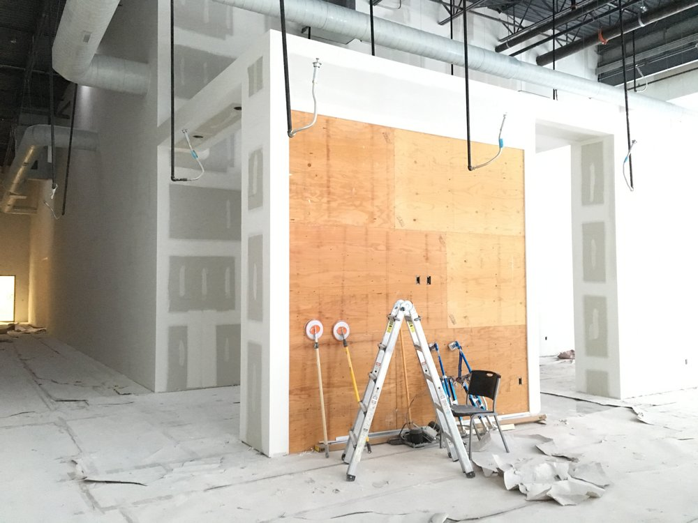 Wood Slat Wall Prep