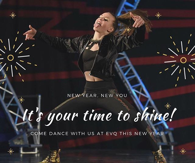 Happy New Year from all of us at EVQ! . . . #newyearnewyou #happynewyear2019 . . . #evq #evqelitedance #squad #evqsquad #dancestudio #denverdancestudio #hiphop #hiphopstudio #denverhiphopstudio #danceclass #denverspremierhiphopstudio #danceclass #welovetodance #adultdanceclass #elitedancers #competitiondanceteam #danceconvention #dropindanceclass #dancelessons #dance #danceteachers #denverspremierhiphopstudio #learntodance #dancetechnique #hiphopvibes #dancevibes #comedancewithus