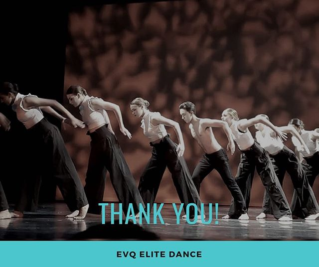 Thank you for coming to our Winter Showcase! Thank you to all of the staff and dancers for putting on such an amazing show. And thank you to the parents for allowing us to be a part of your child's life through dance!  #evqwintershowcase