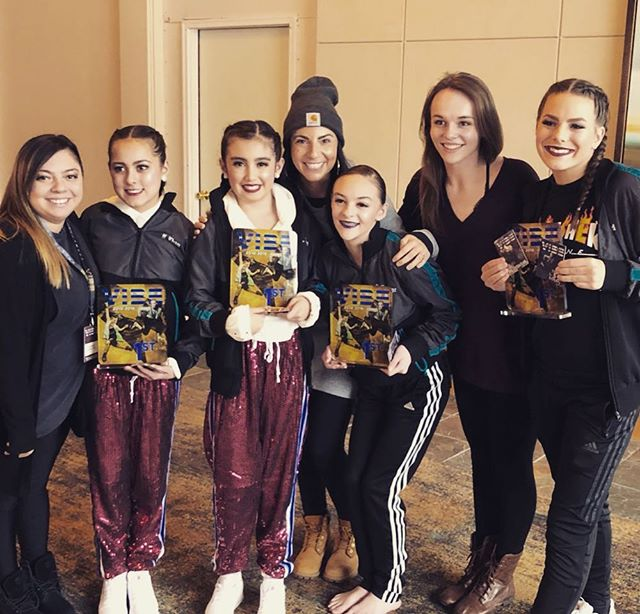 Day One at @hollywoodvibe is off to a great start!! So proud of all our soloists this morning. Extra special shout out to these 1st place and overall dancers!! ❤️ #evqfam