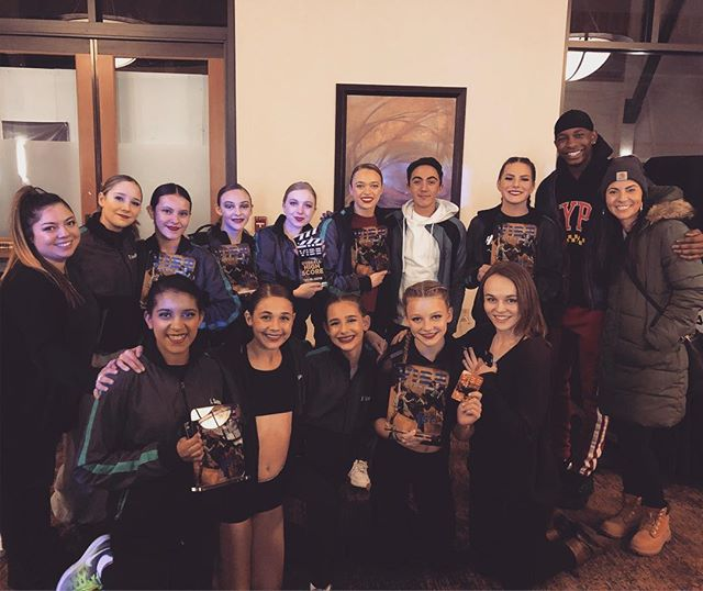 Words cannot even begin to express the amount of pride we feel tonight for these incredible humans. 1st place duo/trios in almost every category. 1st place teen duo/trio overall for Brianna & Reese and 5th place overall senior duo/trio for Miguel & Leah. Werk. Werk. Werk, babies. ❤️❤️❤️