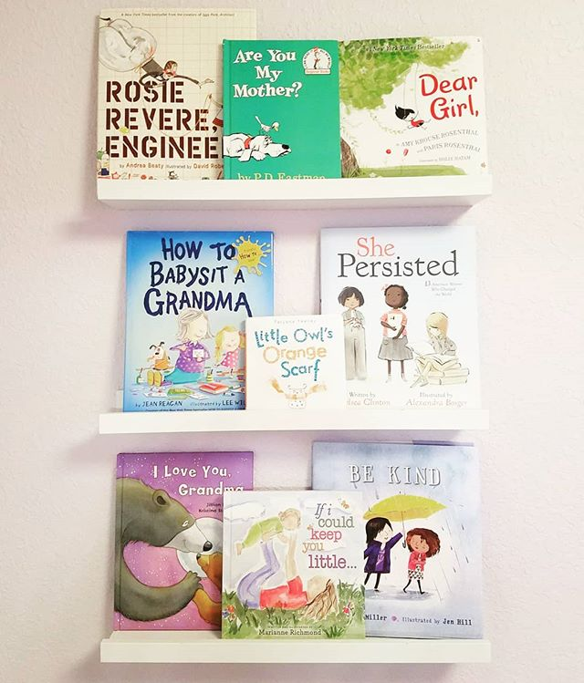 "Sharing the Mother's Day books we picked out for the girls this month. I tried to focus on Mother, Grandma, and strong female centered books. We've had fun reading these for the last few weeks. Does your little have any mama books that are their favorites? 📚 . Henley's favorite is ""Are You My Mother?"" and Macie loves ""Little Owl's Scarf"". My favorite is ""Be Kind"". ❤️❤️ . . #childhood #childhoodunplugged #reading #children #childrensbooks #childliteracy #readingisfun #bookworm #meredithnicolebooks #bookstagram #books #bookrecommendations #bookpicks"