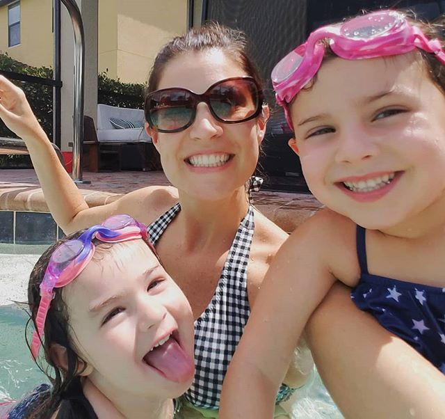 ...So this is love. ❤️ . . #floridagirl #floridagirls #floridafun #floridalife #pooltime #sunshine #sisters #sisterlove #summer #SundayFunday