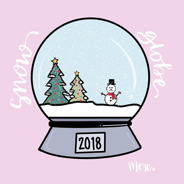I've really been loving the Procreate app for doodling lately in addition to lettering. With that, here is my first attempt at the #hollydoodledec challenge. . . . #ipadlettering #ipaddoodles #creativity