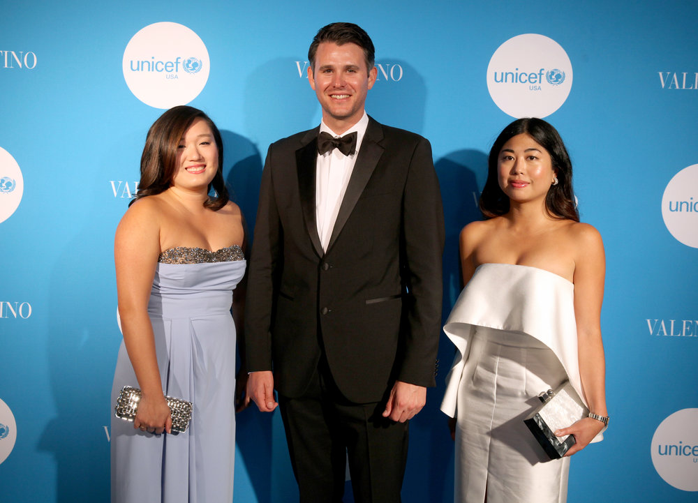 Bay Area NextGen Co-Leads Grace Yu, John Jennison, and Katrina Yulo (Photo by Getty Images)