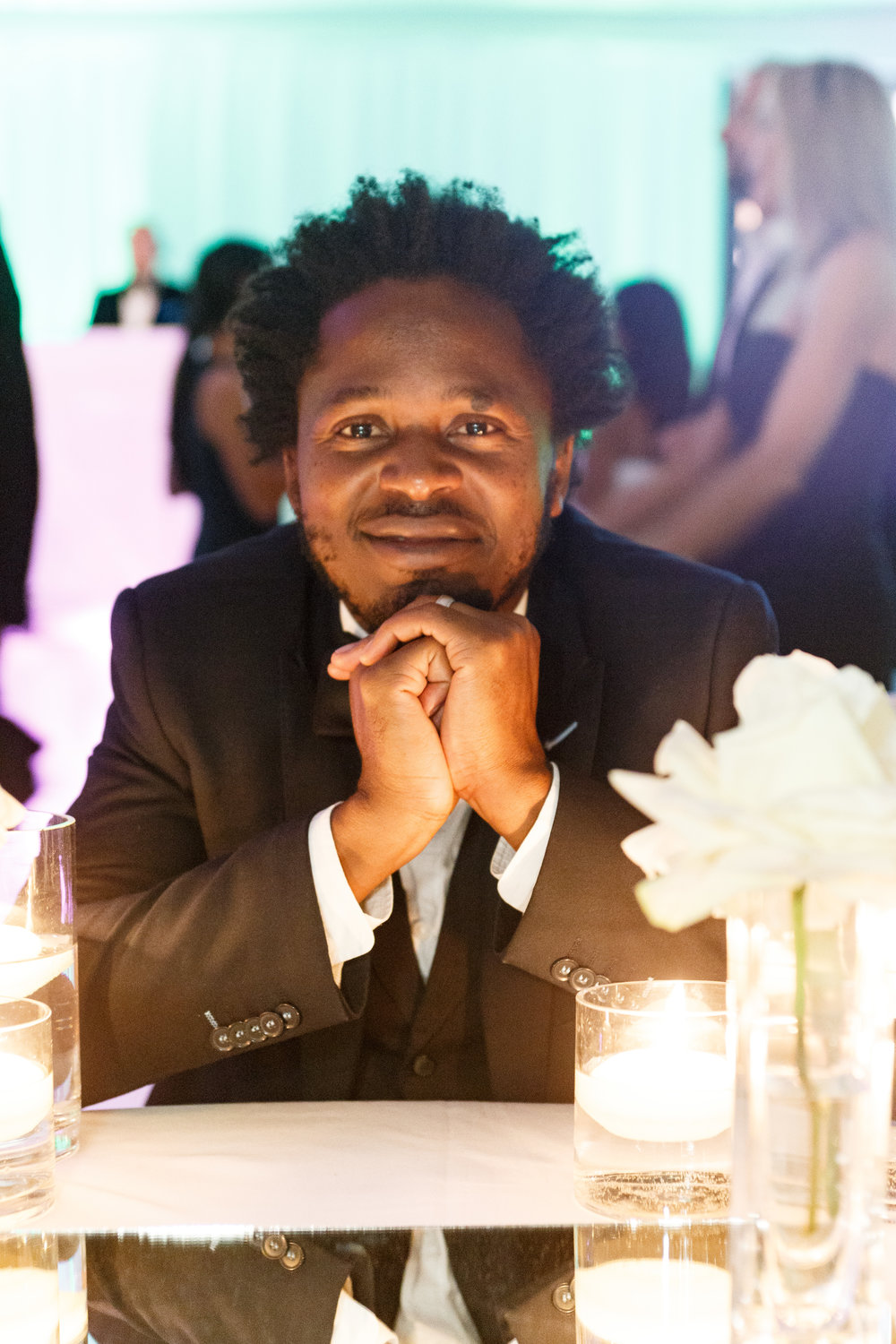 UNICEF Goodwill Ambassador Ishmael Beah (photo by Drew Altizer)