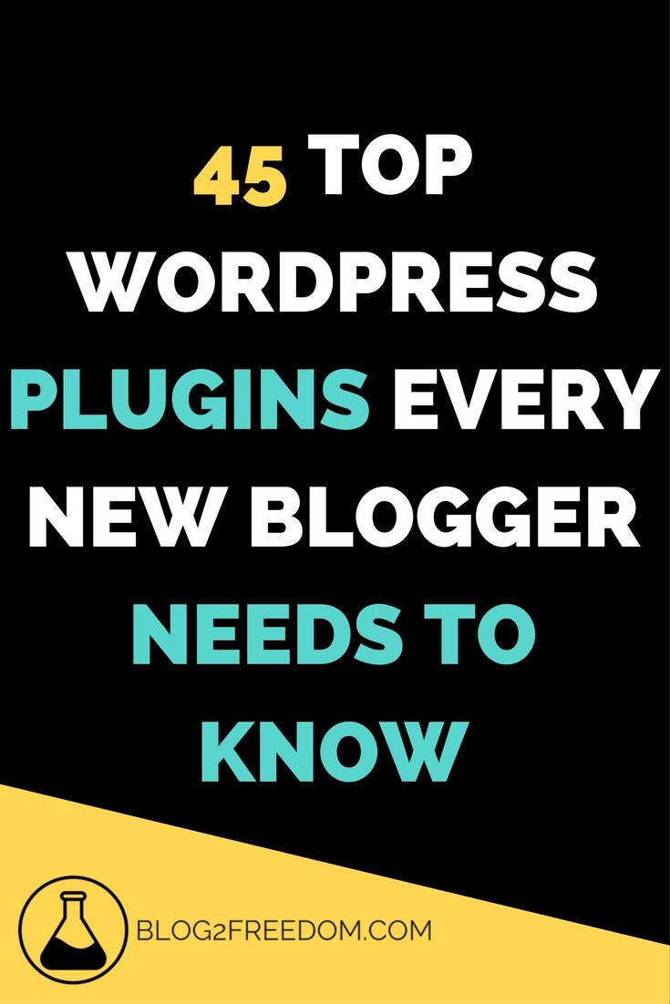 Freaking amazing list! 45 awesome plugins. definitely pin for safe keeping.