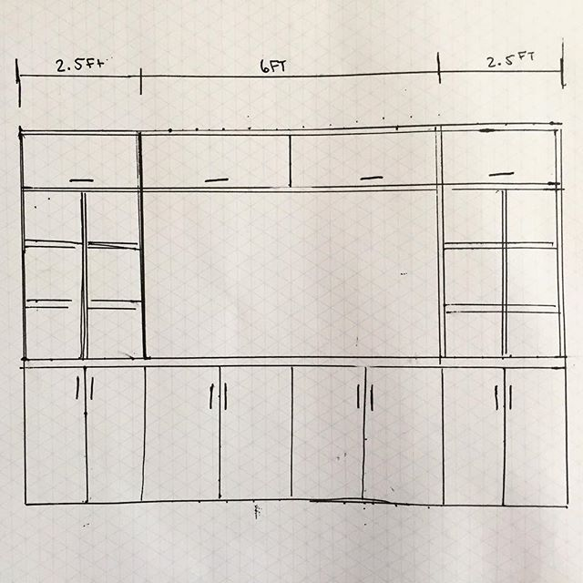 Plans sent! Living room is getting started!